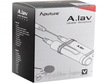 A.Lav Omnidirectional Lavalier Microphone